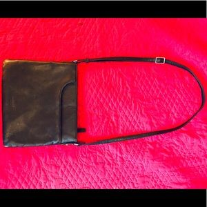 """Margot"" Black Crossbody Purse"
